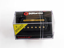 DiMarzio F-spaced Crunch Lab Bridge Humbucker Black W/Gold Poles & Rail DP 228