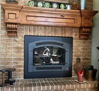 Fireplace Mantel Vintage Shelf Victorian Craftsman Corbels Floating Rustic
