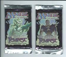 Sealed Magic The Gathering Tempest Booster Pack x2