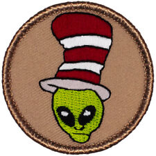 Wacky Boy Scout Patches - F34 - The Alien Cat in the Hat Patrol! 70415