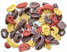 57 Synrock screw-on Climbing Holds - assortment of large incut holds