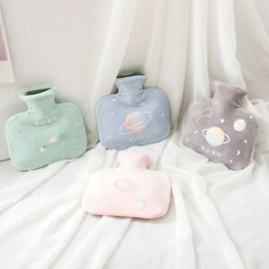 Hot Water Bottle RUBBER Bag With Soft COVER Warm Relaxing HEAT/ COLD 1000 ml