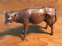 Presepe-Mucca in cartapesta-Made Italy 1930