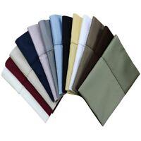 600 Thread Count 100% Cotton Pillowcase(pair)