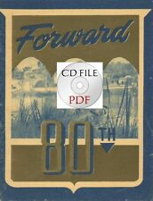 CDFile Forward 80th Infantry Division Booklet + 319 Regiment Gravel Agitator PDF