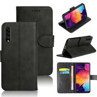For Samsung Galaxy A50 Leather Wallet Case Flip Card Holder Stand Cover
