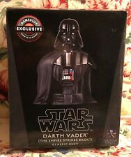 """Gentle Giant Star Wars GameStop Exclusive """"Darth Vader"""" Classic Bust with Box"""