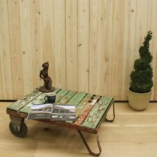 Reclaimed Trolley Coffee Table 13 - Timber/Furniture/Industrial