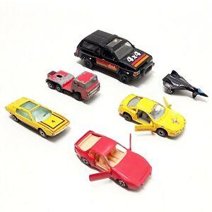 Vintage Yatming Toys & Tootsietoy Cars Lamborghini Marzal Mustang Pathfinder