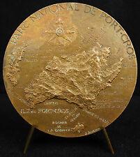 Médaille Parc national de Port-Cros les Iles Bagaud Gabinière le vaisseau Medal