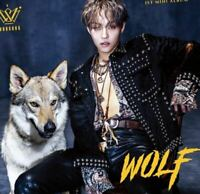 THE ROSE KIM WOOSUNG: Wolf* CD+Full Package+Poster (J&STAR) Album K-POP New