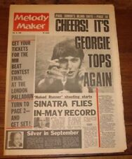 July Melody Maker Music, Dance & Theatre Magazines