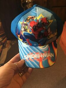 TODDLER BASEBALL CAP-SPIDERMAN