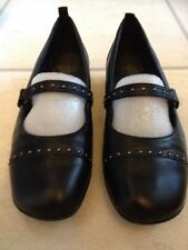 Leather Wear to Work Solid Flats for Women