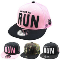 Kids Boy Girl Baseball Cap Adjustable Snapback Hip-hop Peaked Outdoor Visor Hat