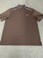 Greg Norman Large Black Polo Shirt