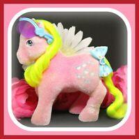 ❤️My Little Pony MLP G1 Vtg So Soft SHADY Flocked Fuzzy Pink Sunglasses❤️