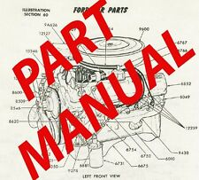FORD COMPLETE DEALER PART CATALOG MANUAL 1965-1972