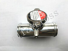 "Radiator Hose Filler Aluminum Inline Coolant Hose Drain 1-1/2"" (38MM) New"