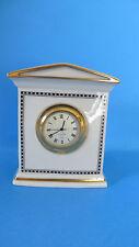 Lenox Forum Black Quartz Mantel Clock