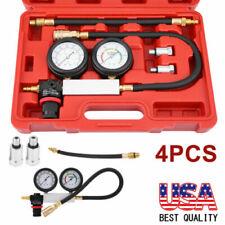 Cylinder Leak Tester Petrol Engine Compression Leakage Leakdown Detector Kit