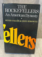 The Rockefellers: An American Dynasty, First Edition 1st Printing Hardcover w/DJ