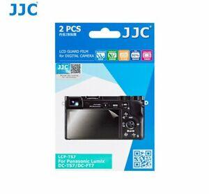 JJC LCP-TS7 LCD Guard Film Screen Protector for PANASONIC LUMIX DC-TS7 DC-FT7