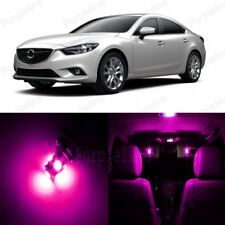 13 x Pink LED Interior Lights Package For 2014 - 2017 Mazda 6 + PRY TOOL