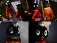 Orig. Set DDR - Pittiplatsch Handpuppe Spielzeug Kasperle Theater Puppe kult Lot