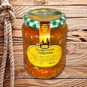 Hausgemachte Soljanka im Glas - nach echtem DDR Rezept - 680ml (5,29 €/L)