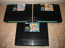 LOT OF 3 NEO GEO HOME CART AES GAMES!