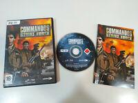 Commandos Strike Force - Juego para PC DVD-Rom Eidos - AM