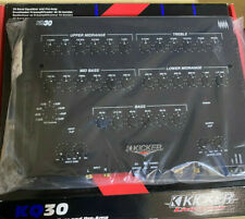 KICKER KQ30 30-Band Graphic Equalizer w/ 9 Volt Pre-Amp Output