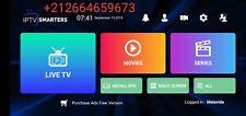 Smarters pro abonnement , smart tv ,android , tv box , ios