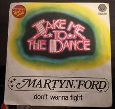 Martyn Ford ‎– Take Me To The Dance 45 giri 1978 Italy vertigo Top Funk VG+/NM
