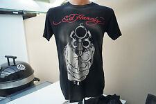 ed hardy Herren Men T-Shirt Gr.S schwarz TOP #68