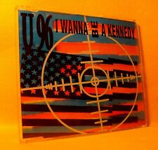 MAXI Single CD U 96 I Wanna Be A Kennedy 3TR 1992 House, Techno