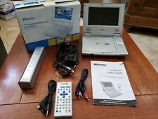 """Memorex Portable 7"""" DVD Player MVDP1075 with Box Great for Travel Car"""