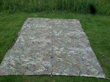 Genuine NEW British Army MTP multicam Basha shelter sheet tarp