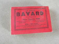 """Almanach , """" Le gros bavard """" , normand 1958  C12"""