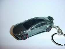 NEW 3D DARK GREY 2015 TESLA MODEL S CUSTOM KEYCHAIN keyring key EV solar MUSK