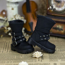 1/3 BJD MID Shoes Dollfie EID DOD LUTS AOD DIM DZ studded Shoes SD13 Punk Boots