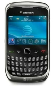 BlackBerry Curve 9300 - Black Att GSM 3G WiFi Qwerty Camera Smartphone(locked)