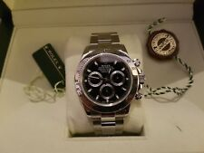 Rolex Daytona 116520 Stainless Steel Black Dial - Box & booklets - 2015