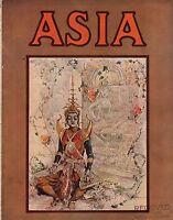 1923 Asia November - Masks; Samurai; Galapagos; Chinese Bandits; Abyssinia;Egypt