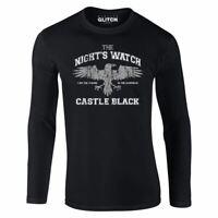 Herren Night's Crow Langarm-T-Shirt Geschenk