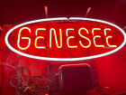 Vintage 1970 Genesee Neon Beer Lighted Sign WOriginal Box Great Working Contion