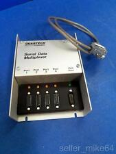 QUARTECH 8517 SERIAL DATA MULTIPLEXER WITH CONNECTOR CABLE 120 VAC,  NNB *PZB*