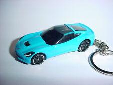 Cheap Sale New 3d Black 1978 Chevrolet Corvette Custom Keychain Keyring Key Vette Bling!!! Car & Truck