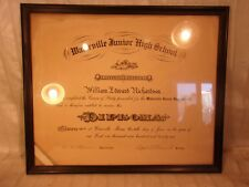 antique diploma frame 15 14 x 18 holds 14x17 molding - Ecu Diploma Frame